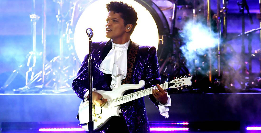 Bruno Mars - Prince tribute - Grammy Awards 2017 - Hit Channel