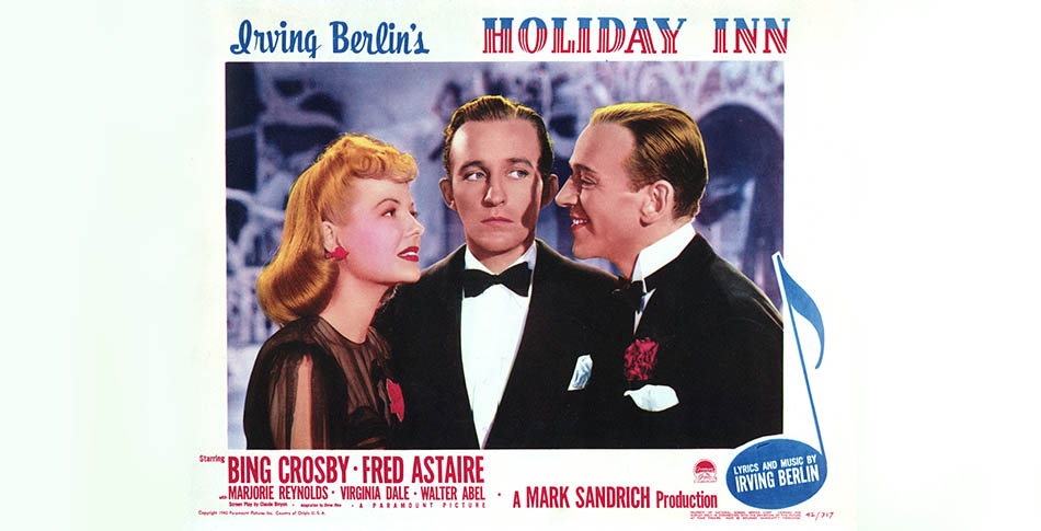 Marjorie Reynolds - Bing Crosby - Fred Astaire - Holiday Inn (1942) - Hit Channel