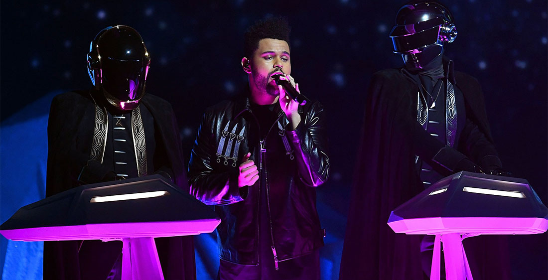The Weeknd - Daft Punk - Grammy Awards 2017 - Hit Channel