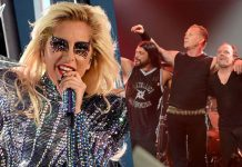 Lady Gaga Metallica Grammy