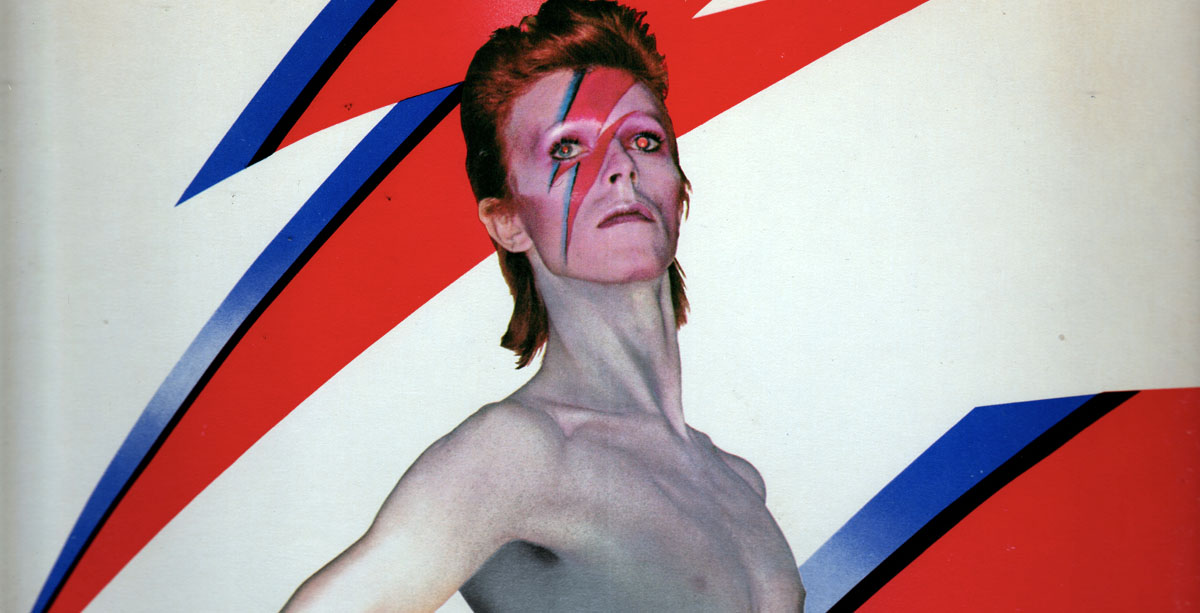 David Bowie - Aladdin Sane (album artwork) - Hit Channel
