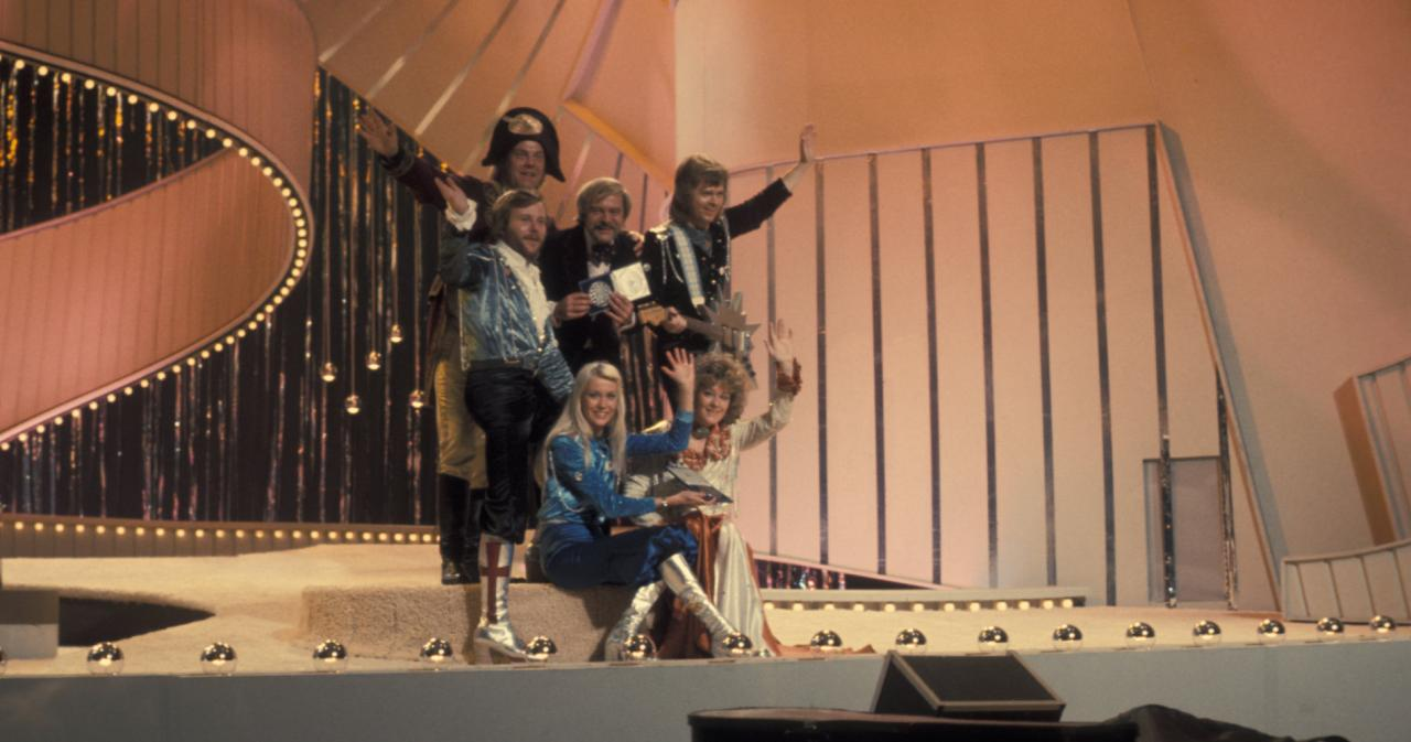 ABBA - Eurovision Song Contest 1974 - Hit Channel