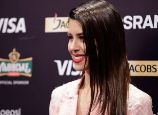 Demy - Greece - Eurovision Song Contest 2017 - Press Conference - Hit Channel