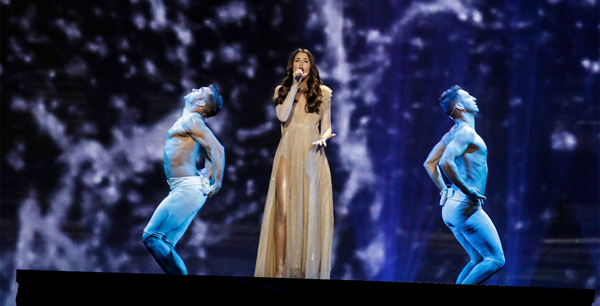Demy This Is Love Eurovision Song Contest 2017 Greece