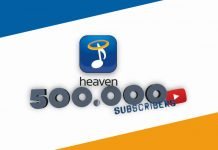 Heaven Music - YouTube - 500000 subscribers - Hit Channel