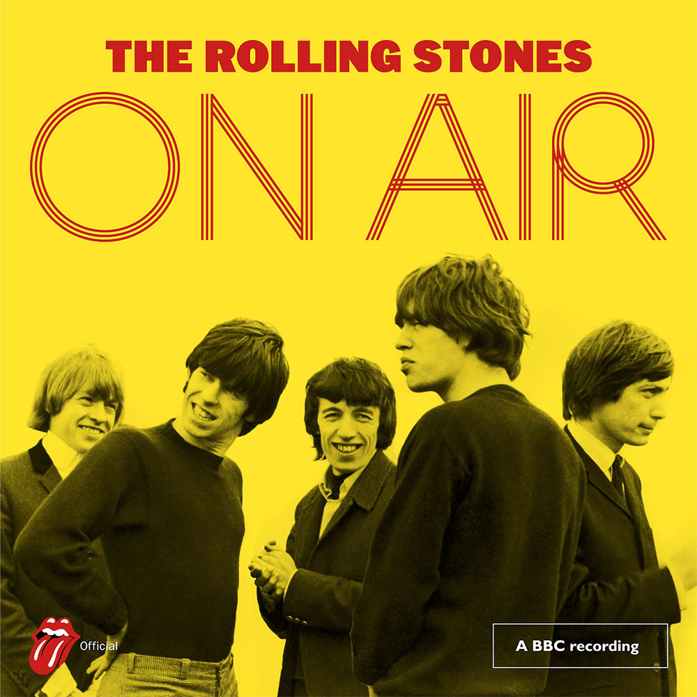 Rolling Stones - On Air - deluxe (album cover) - Hit Channel