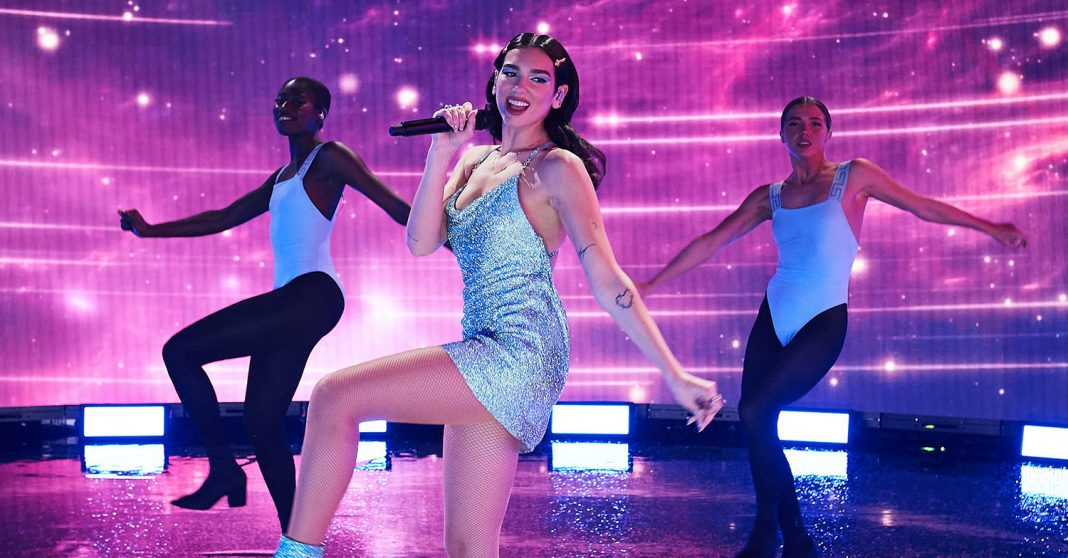 Dua Lipa - American Music Awards 2020