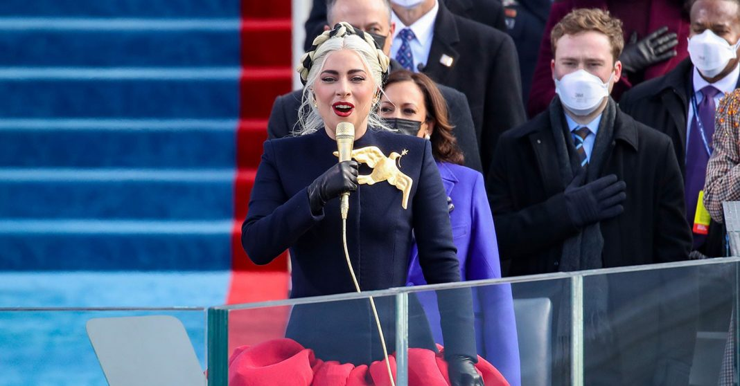 Lady Gaga - Inaugauration of Joe Biden & Kamala Harris - ορκωμοσία