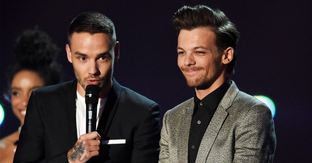 Liam Payne - Louis Tomlinson - Brit Awards 2016