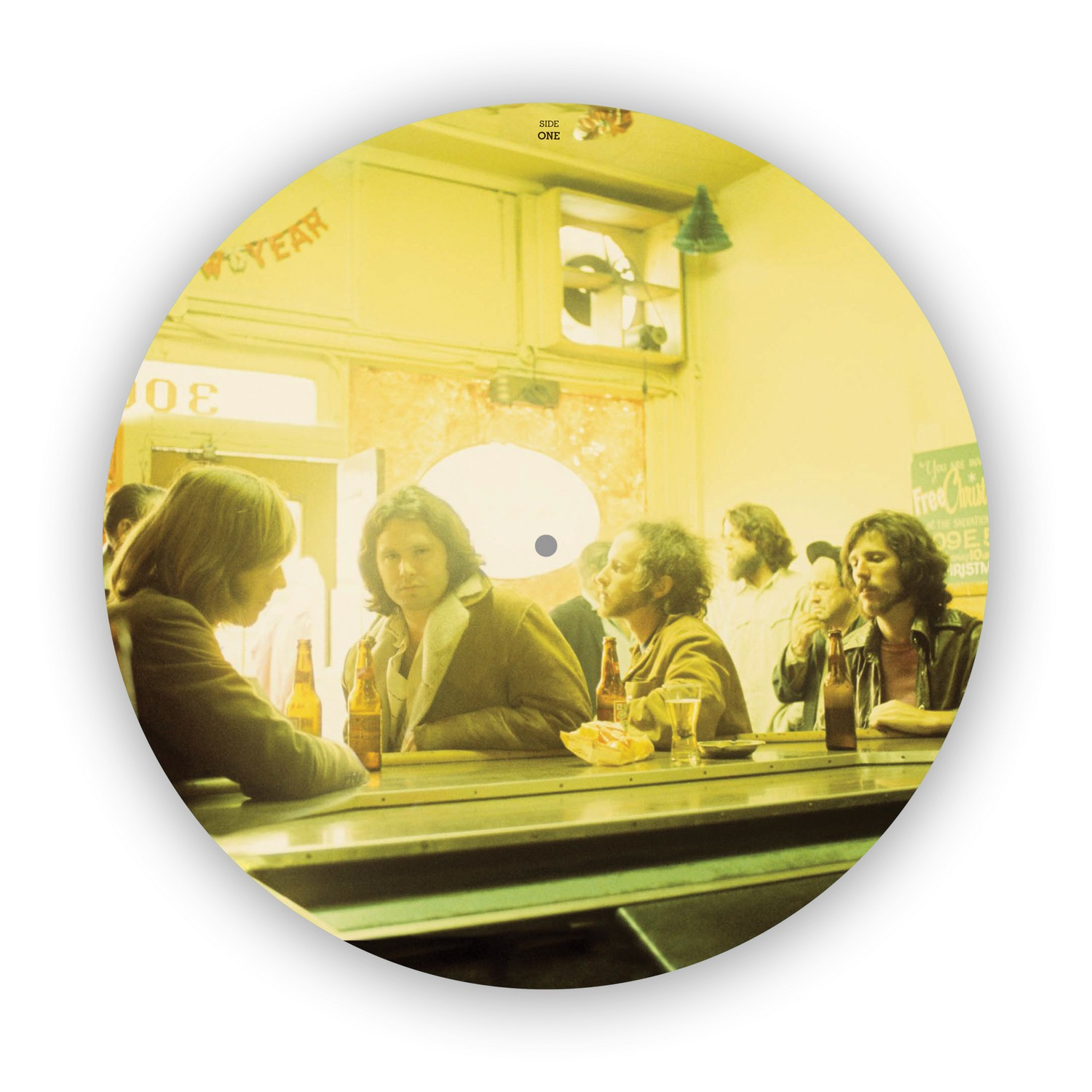 The Doors Morrison Hotel picture disc 02