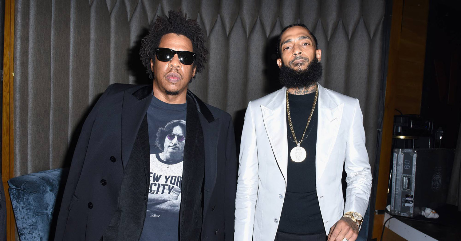 JAY Z Nipsey Hussle GettyImages 1083448968