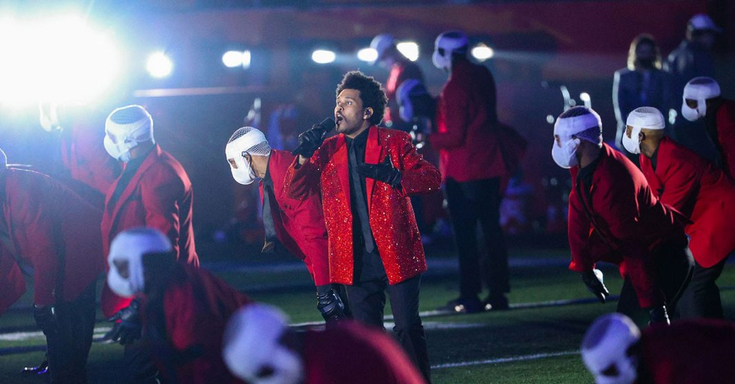 The Weeknd - Halftime Show - Super Bowl 2021