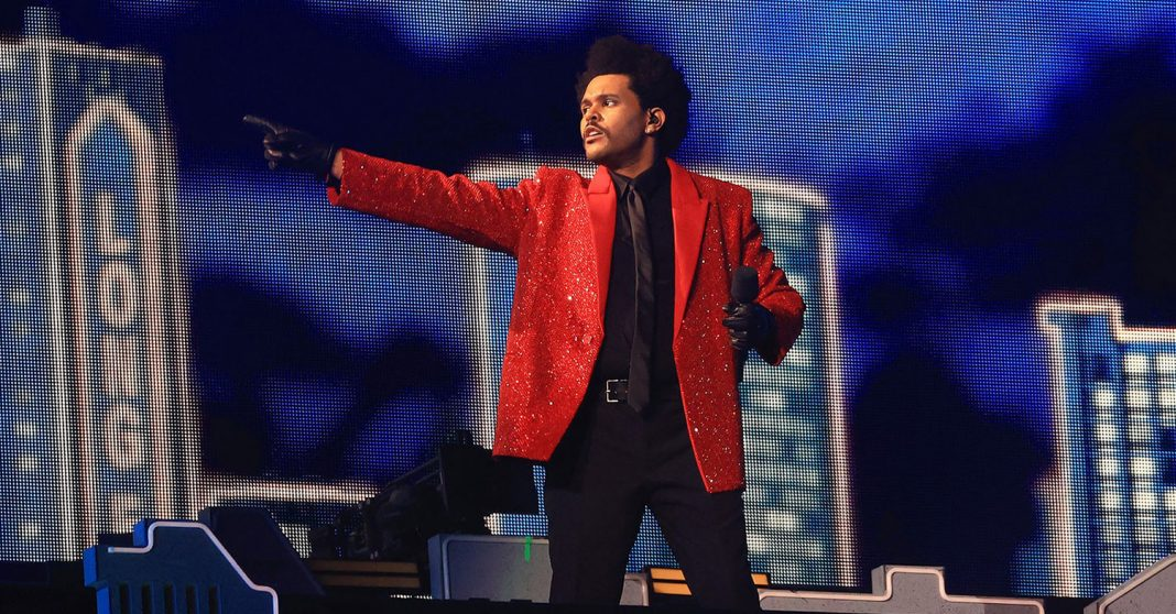 The Weeknd - Super Bowl 2021 - Halftime Show