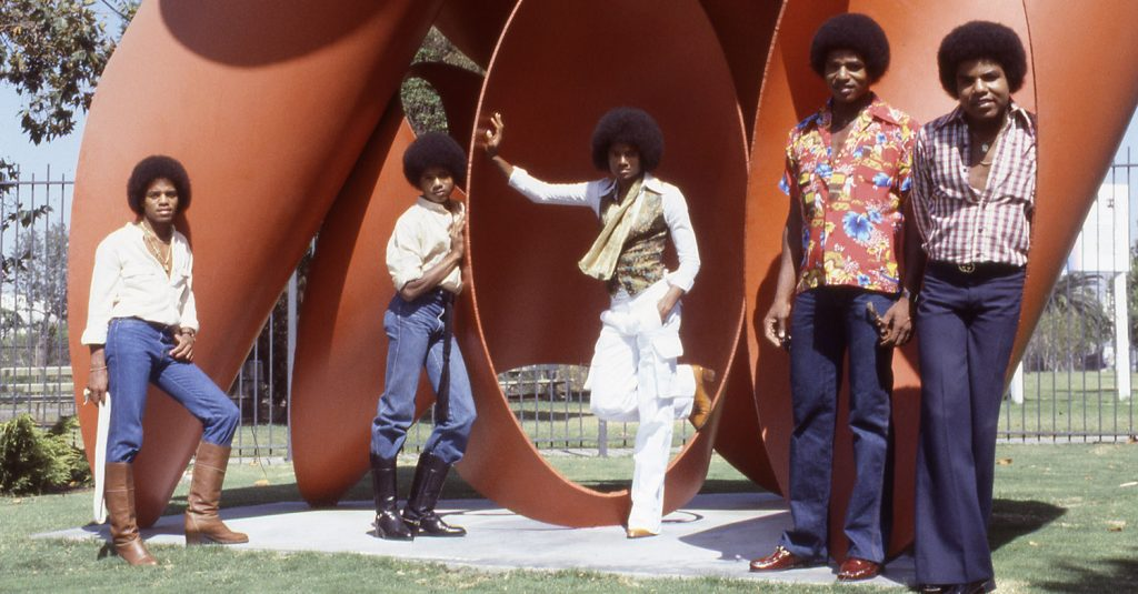 Michael Jackson and The Jacksons Publicity Photos - August 16, 1978
