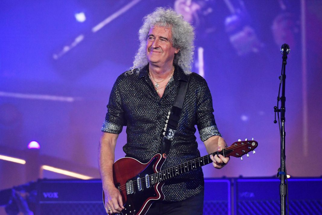 Brian May - Queen - Global Citizen Festival, Central Park, New York, USA - 28 Sep 2019
