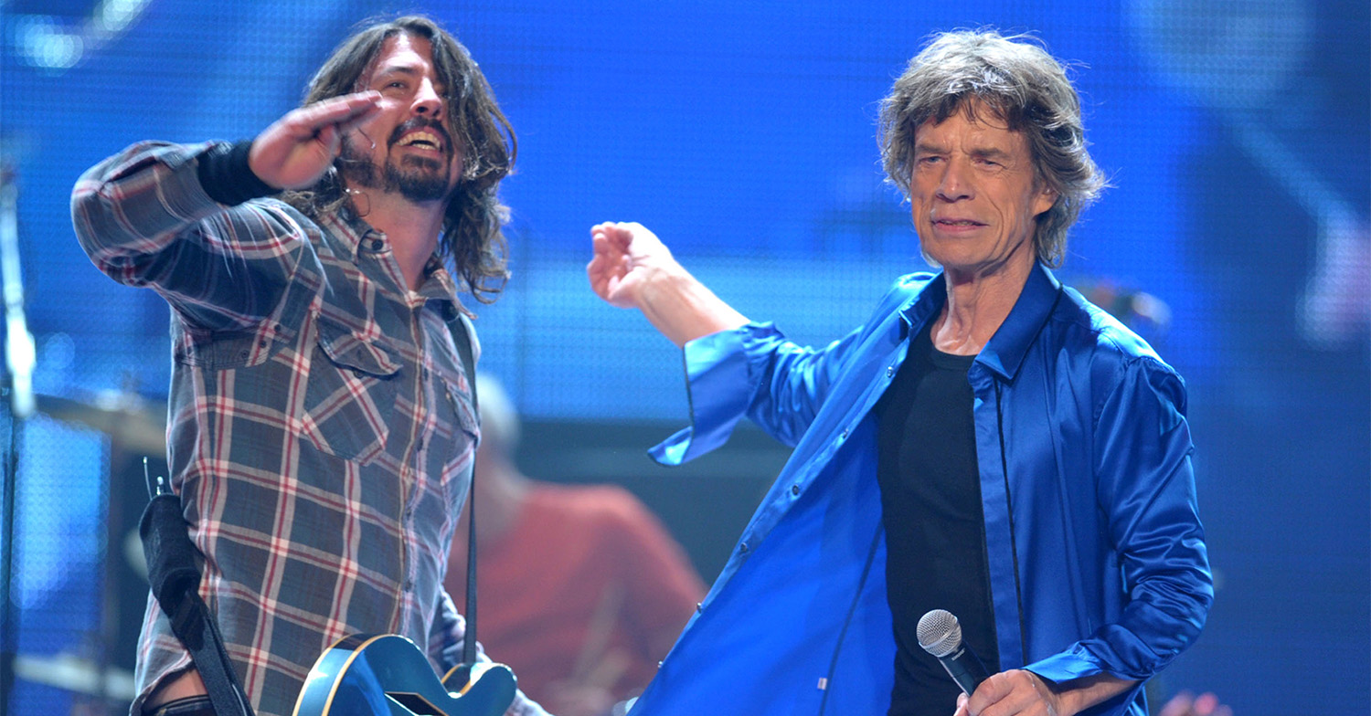 mick jagger dave grohl 12572495