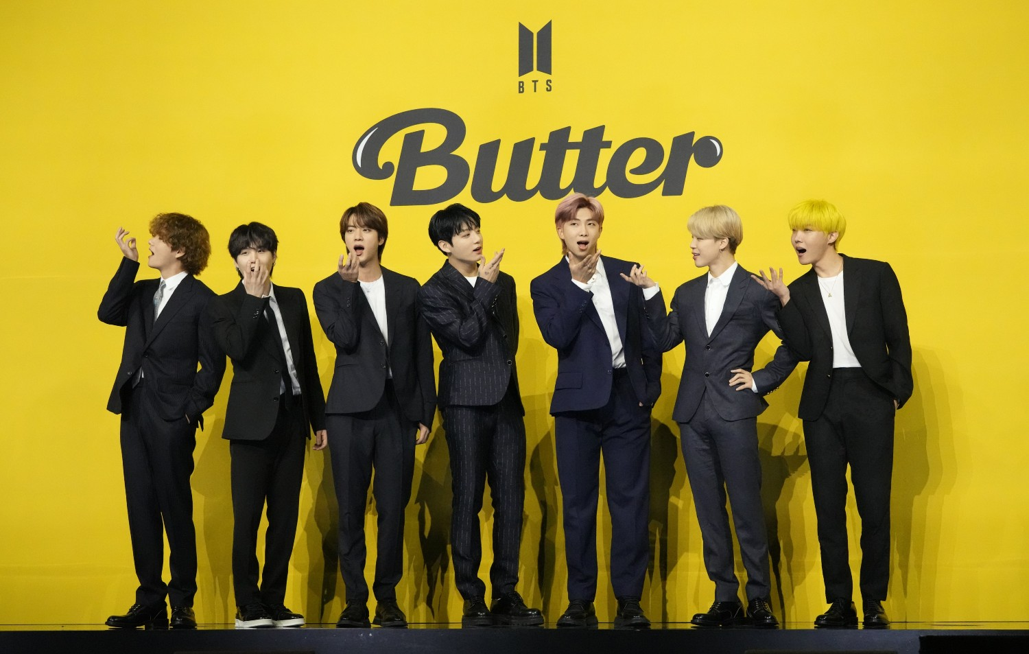 BTS - Butter - press conference
