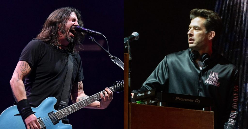 Dave Grohl (Foo Fighters) - Mark Ronson