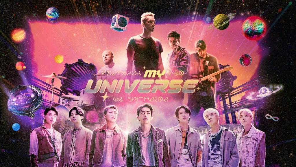 Coldplay, BTS - My Universe (Official Video)